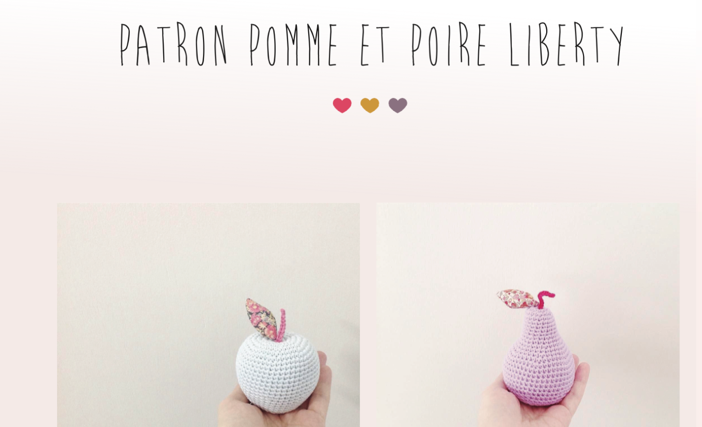 Liberty Fruits Galore Free Tutorial Inside Eleonore And Maurice