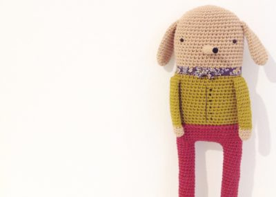 Crochet doll henry very British 3