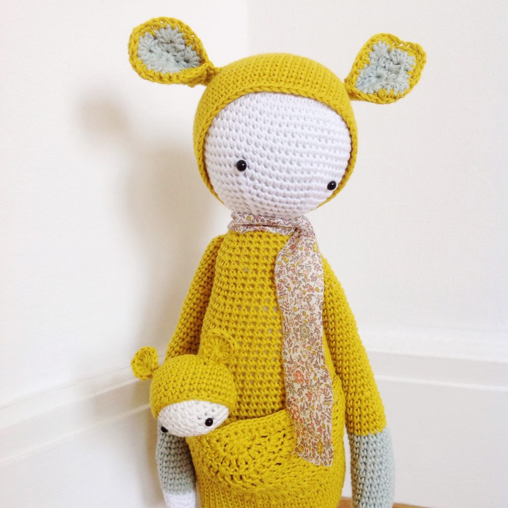 Kira Kangaroo pattern made by Eleonore and Maurice