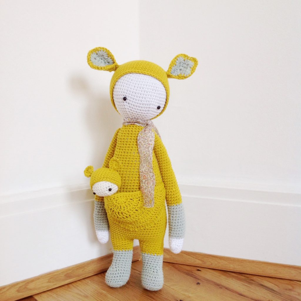Kira Kangaroo pattern made by Eleonore and Maurice.